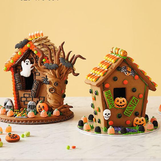 Haunted House Gingerbread House