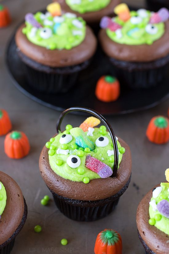 Witch S Cauldron Cupcakes