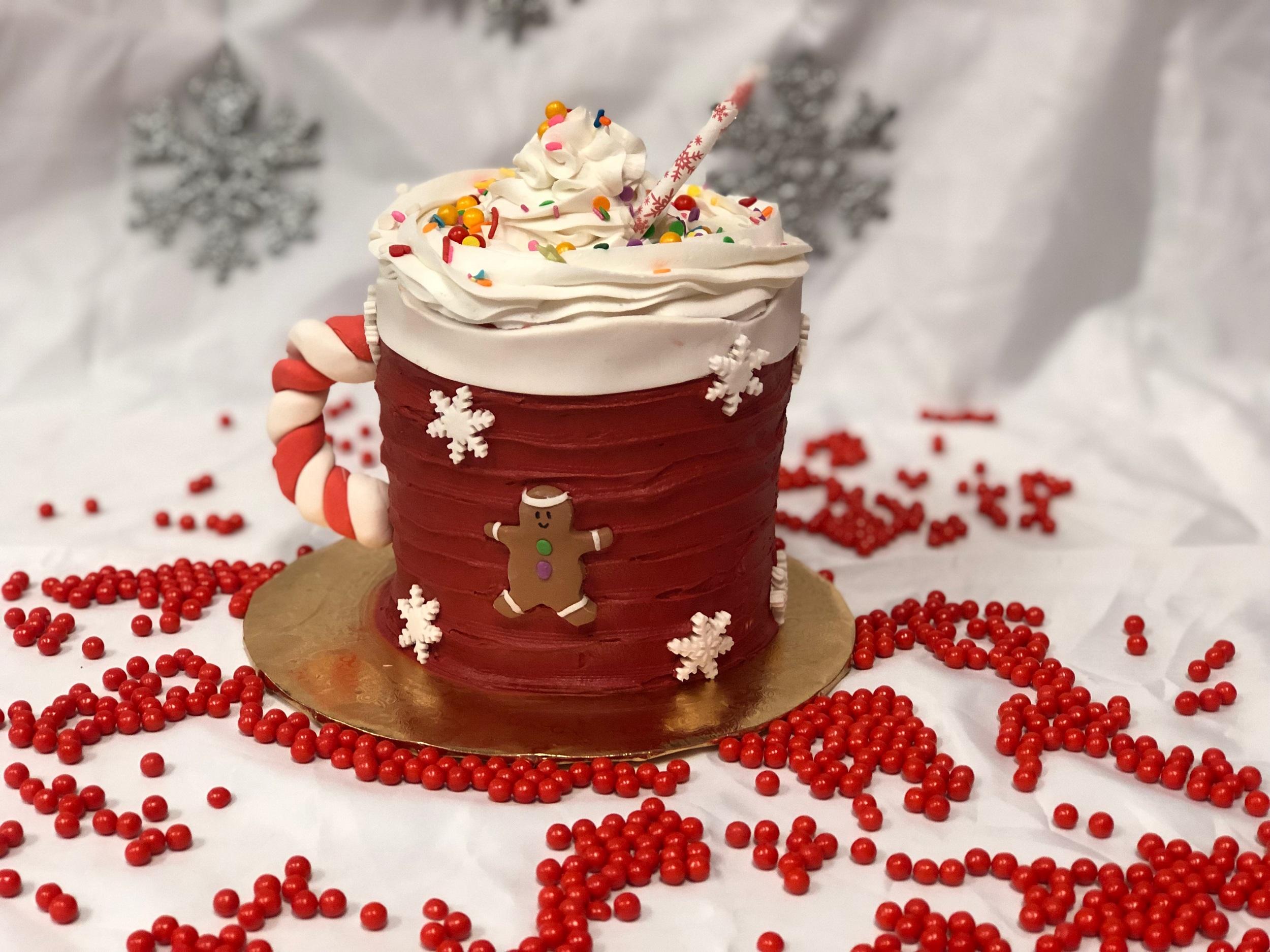 Family Fun Winter Mug Cake Decorating Project