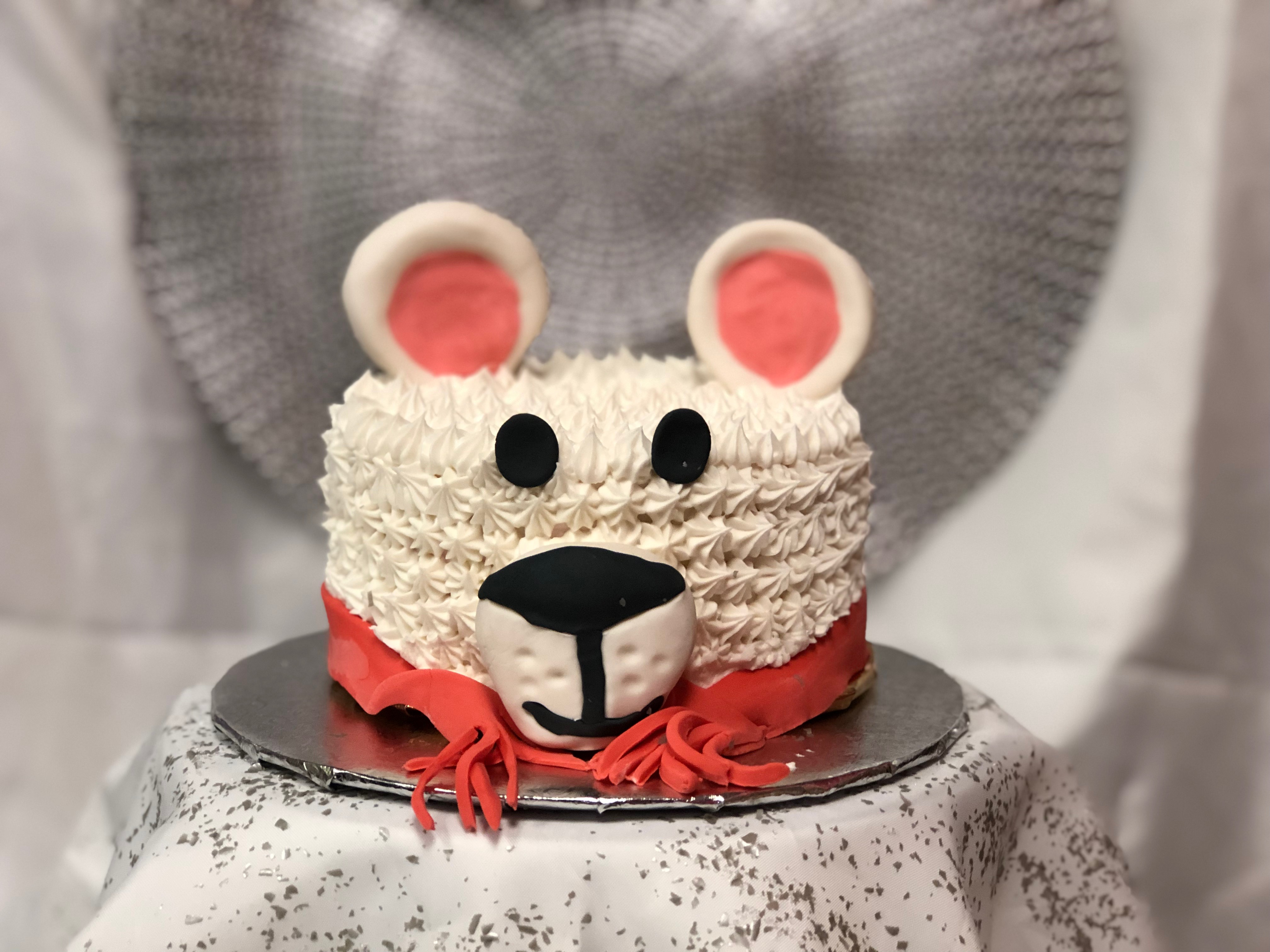 Mommy and Me Christmas Cake