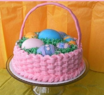 Strange Easter Basket Cake The Woodlands Over The Top Cake Supplies Funny Birthday Cards Online Fluifree Goldxyz