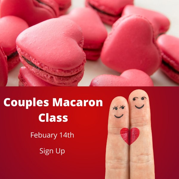 Macaron Baking Class - Valentine's Date Night