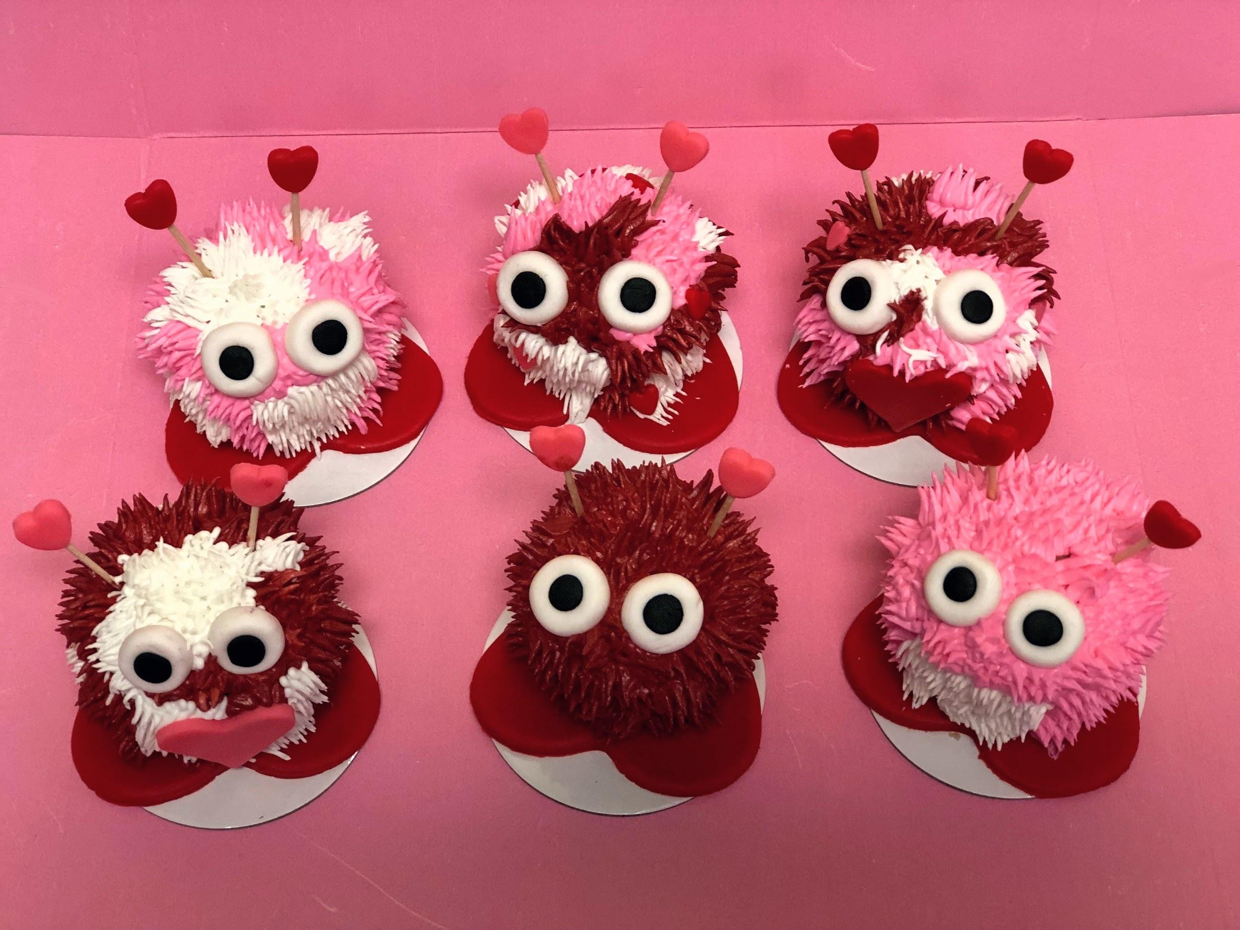 Valentines Cupcake Decorating Class