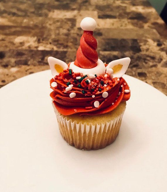 Christmas Unicorn Cupcake Decorating Class