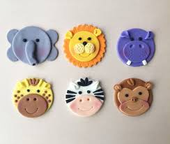 Zoo Animals Cupcake Decorating Class