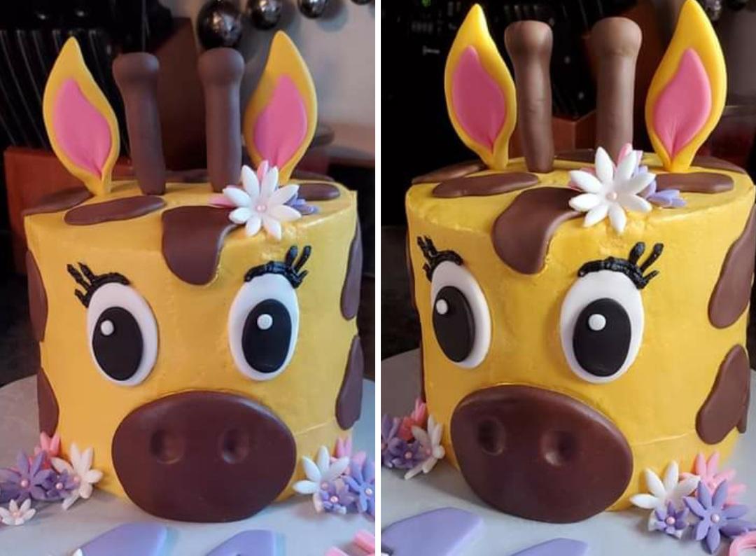 Spring Break - Giraffe Cake Class