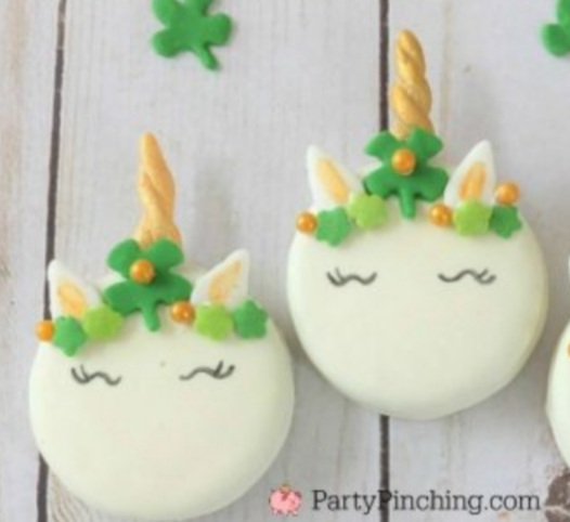 Lucky Unicorn - Chocolate Covered Sandwich cookies