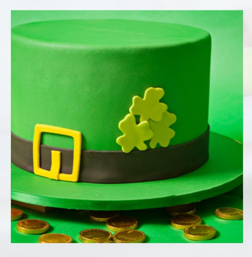 Leprechaun Hat - Cake Class