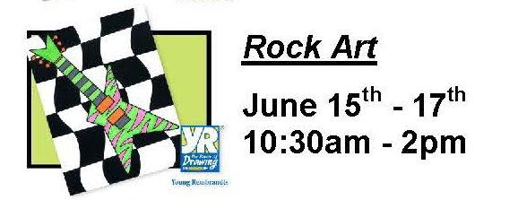 Rock Music Art Summer Camp