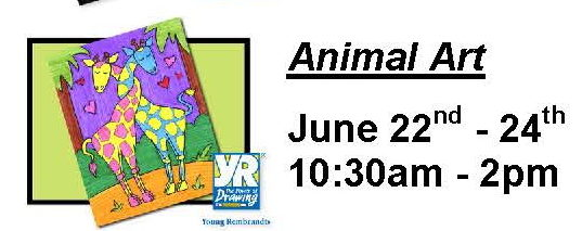 Animal Art Summer Camp