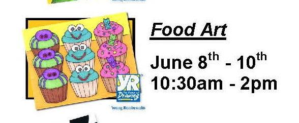Food Art Summer Camp
