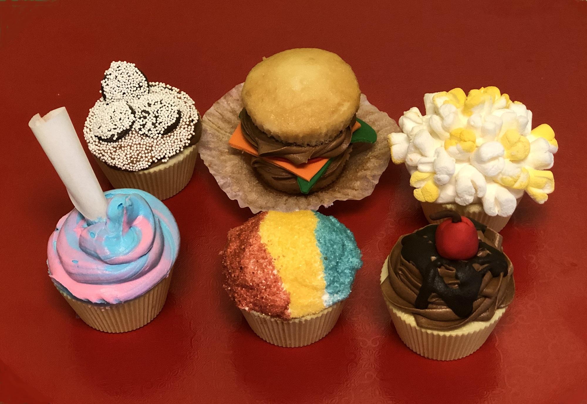 Movie Snacks Cupcake Class