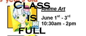 Anime Art Summer Camp