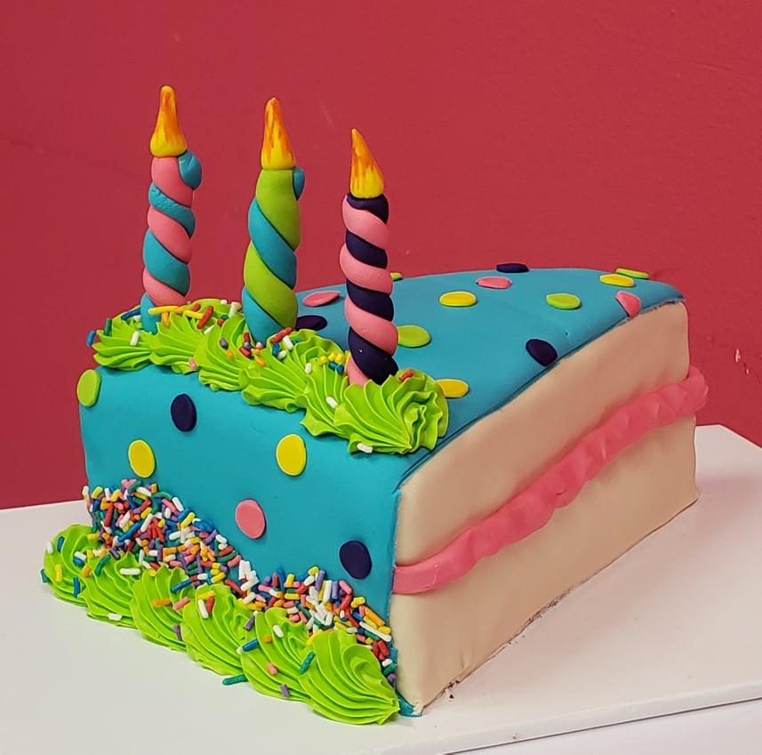 Piece of Birthday Cake Cake