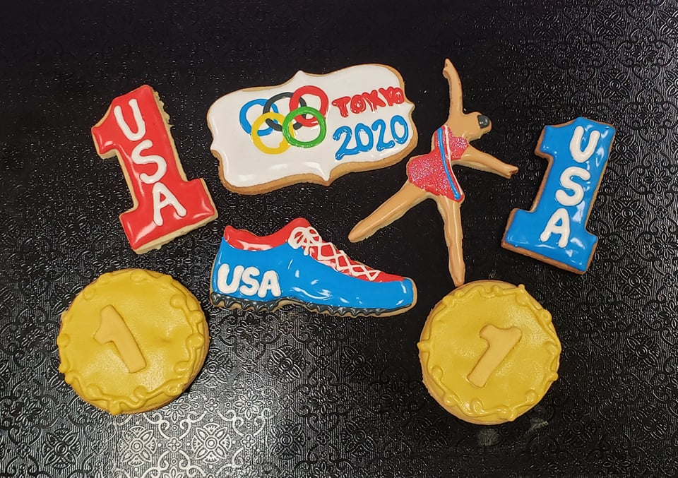 USA/Olympics Cookies