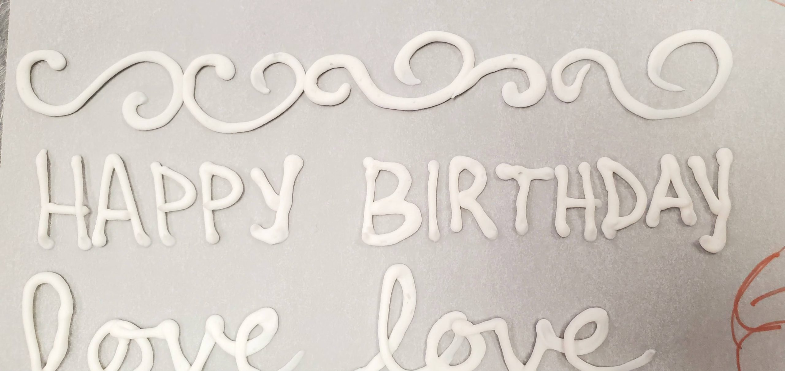 Fonts in Frosting - Writing on Cakes and Cookies