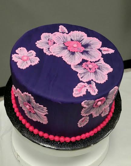 Brush Embroidery Cake W Tori Haudenschild